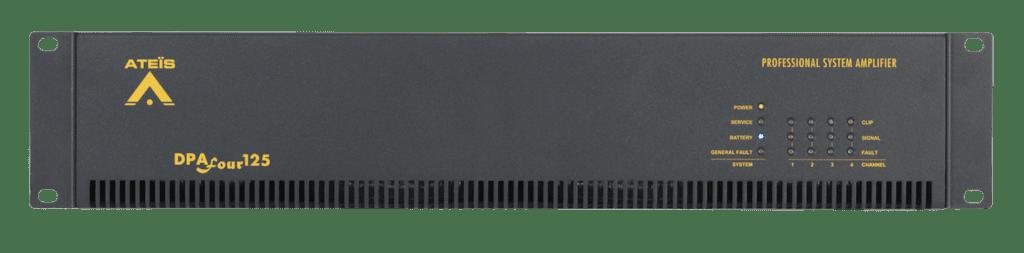 DPAFOUR125 - Quad-channel Class-D amplifier 4 x 125W 100V En54-16