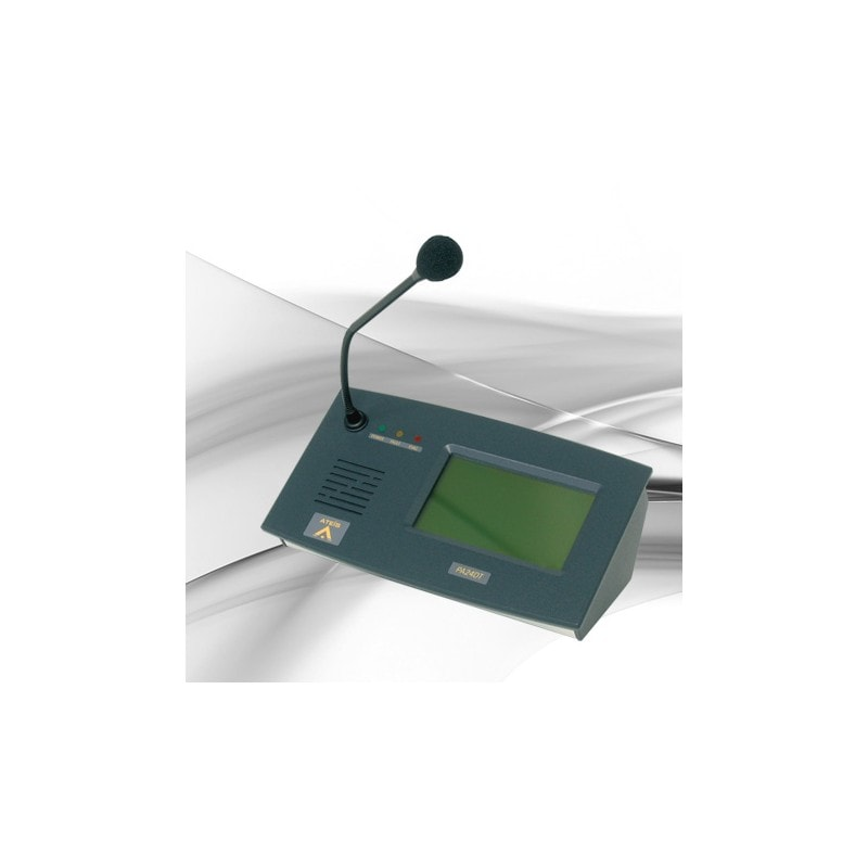 PA48DT - Programmable touchscreen paging console, 48 keys