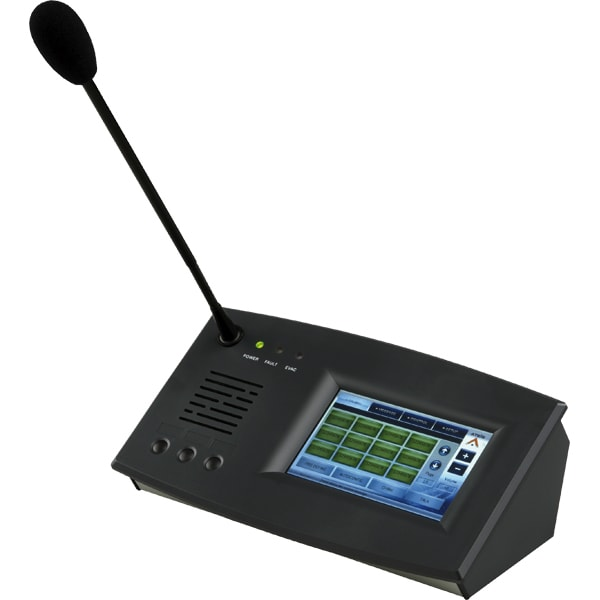 VOXA-D - IP based touchscreen paging system