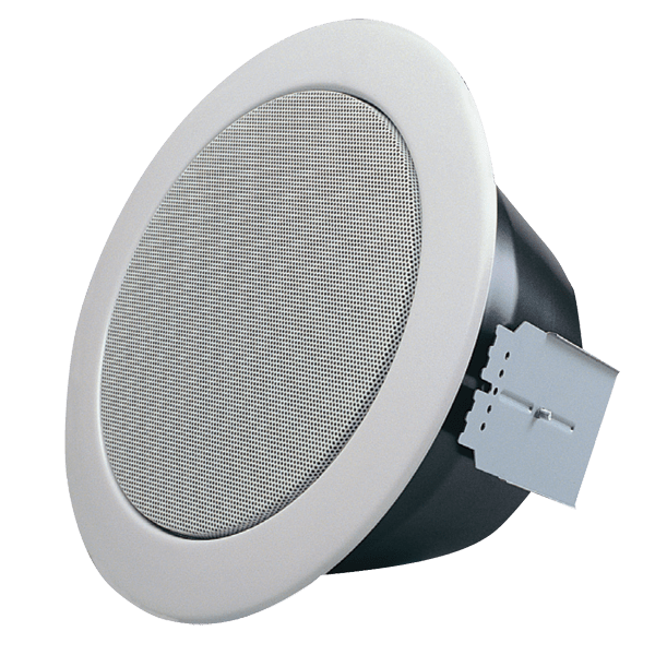 "RLS5T - 5.25"" metal ceiling speaker 100 V EN 54-24 compliant"