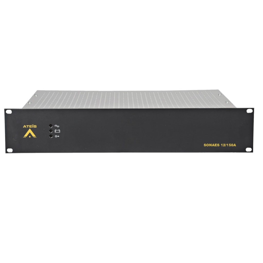 SONAES 12/150 - 2U Rackmount Charger, 12A