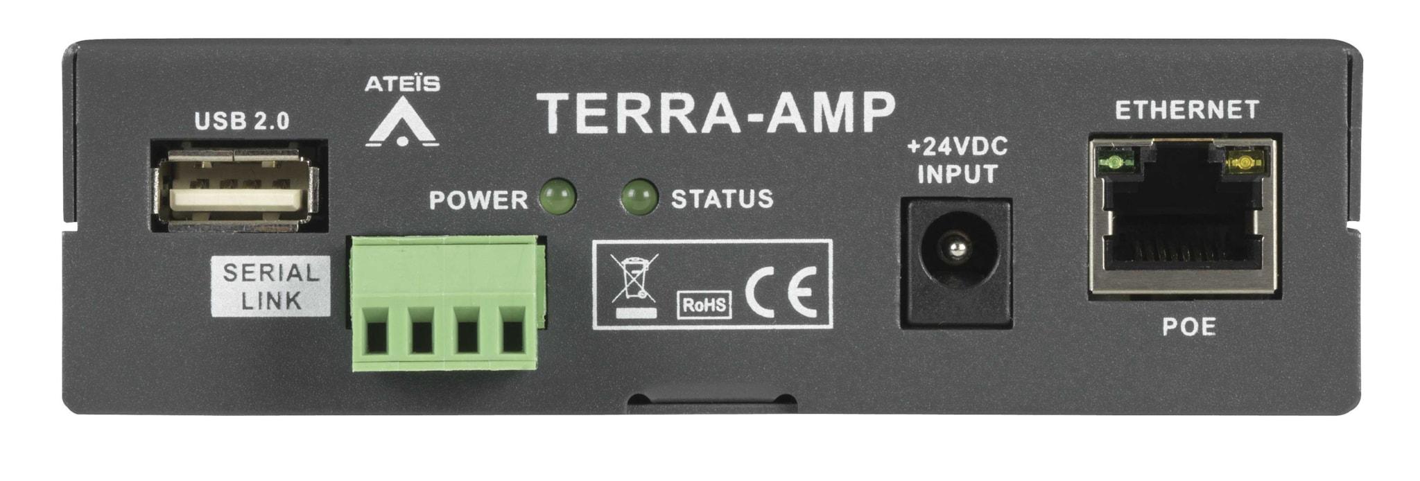 TERRA-AMP - Amplified IP terminal