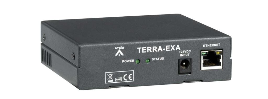 TERRA-EXA - IP audio decoder