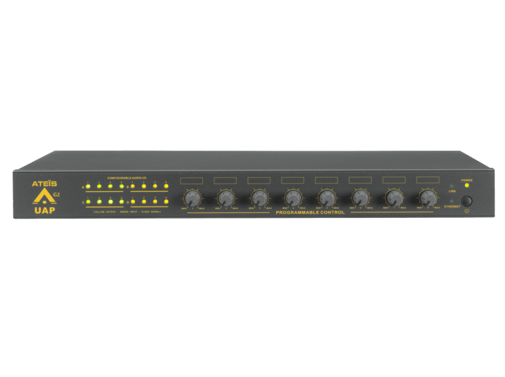 UAPG2 - Expandable universal audio processor