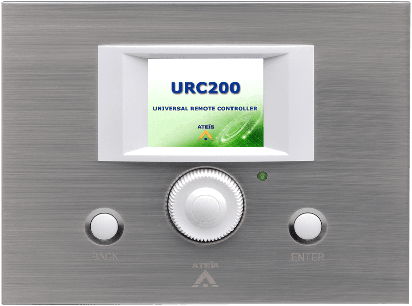 URC200 - Programmable remote controller (tcp/ip)