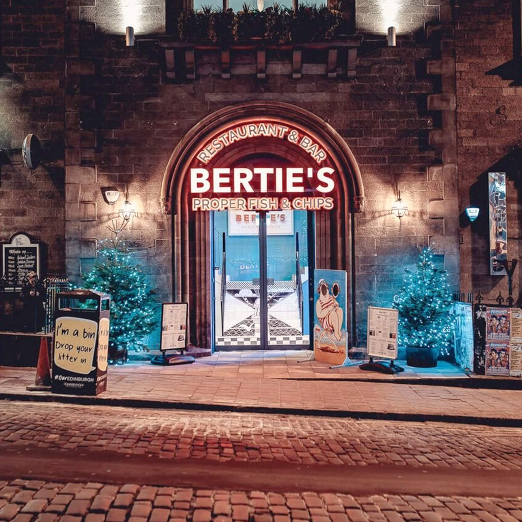 Bertie's Fish & Chips - Edinburgh, United Kingdom