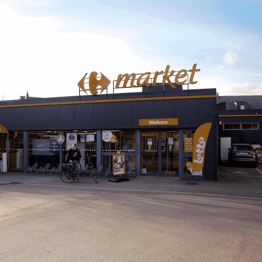 Carrefour Market Hamme - Hamme, Belgium