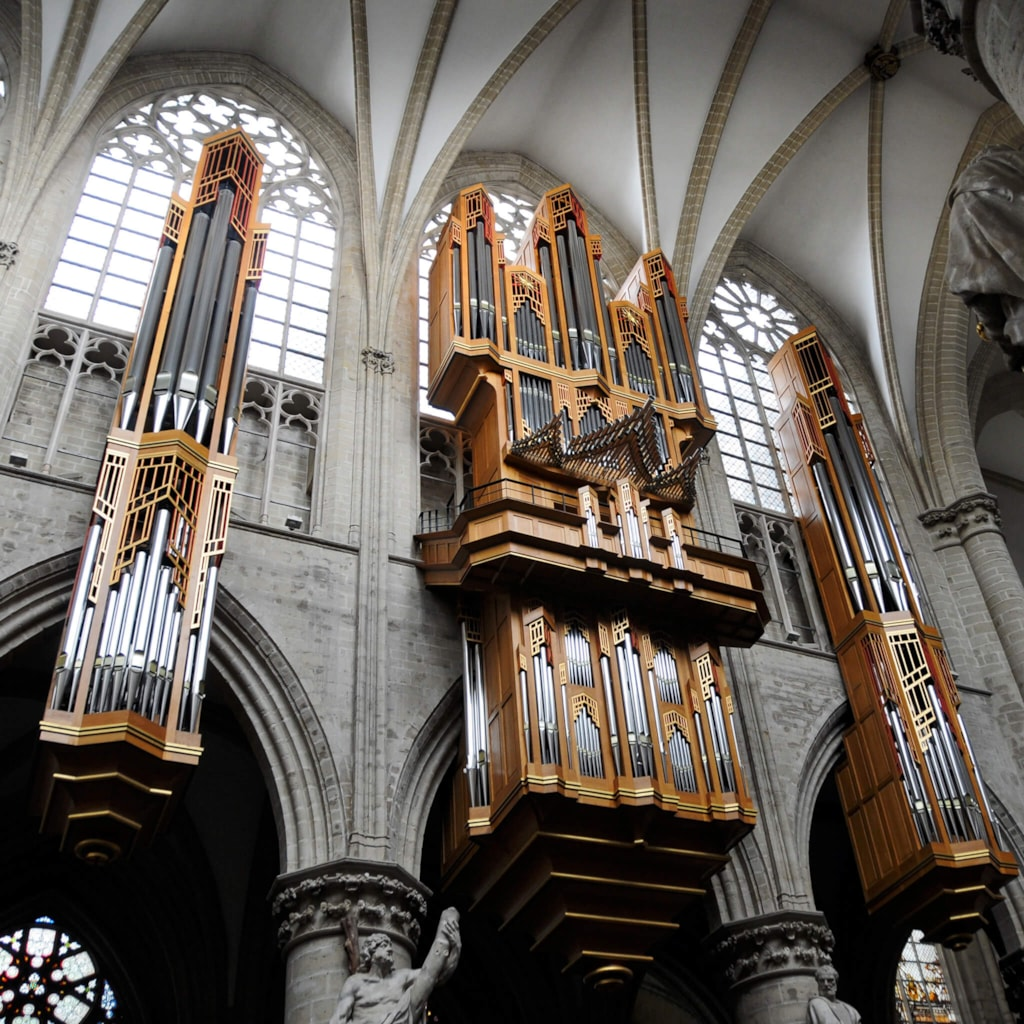 Cathedral of St. Michael and St. Gudula - Brussels, Belgium