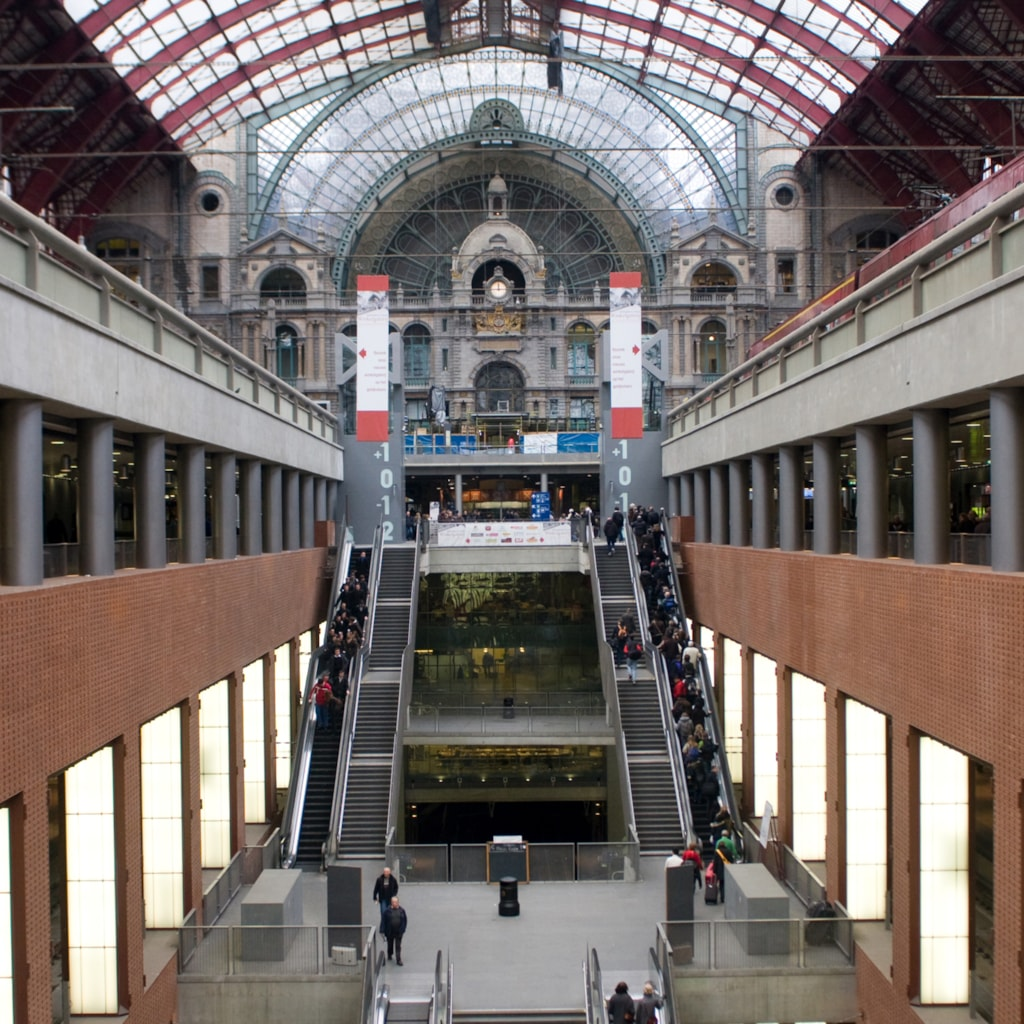 Central Railway Station - Antwerp, Belgium