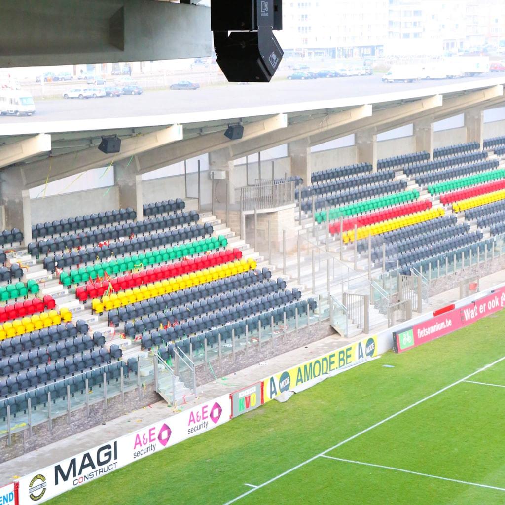 Diaz Arena - Ostend, Belgium