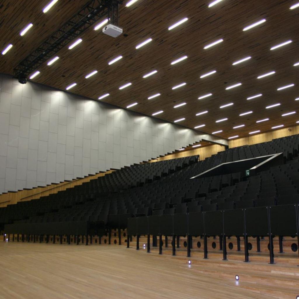 Leon De Meyer Super-auditorum - Ghent, Belgium