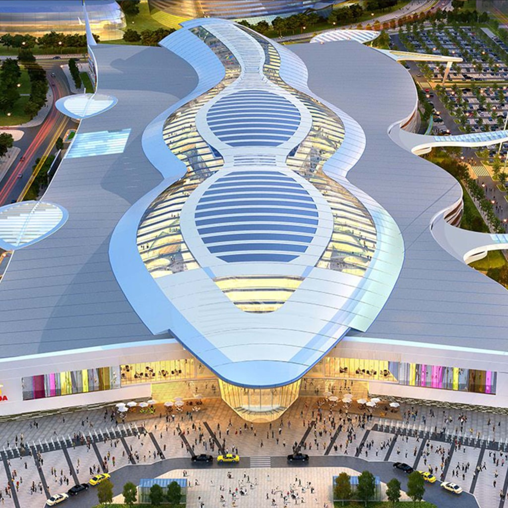 Mega Silk Way Trade centre - Astana, Kazakhstan