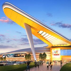 Mega Silk Way Trade centre - Astana, Kazakhstan