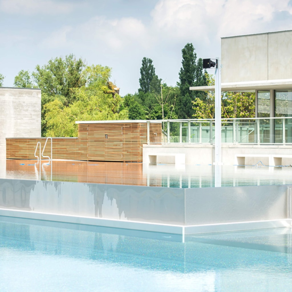 Plinius outdoor swimming pool - Tongeren, Belgium