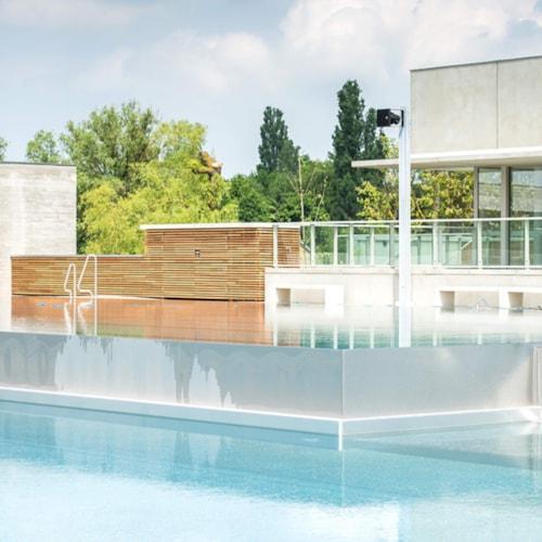 Plinius outdoor swimming pool