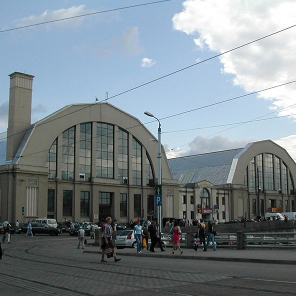 Riga Central Market - Riga, Latvia
