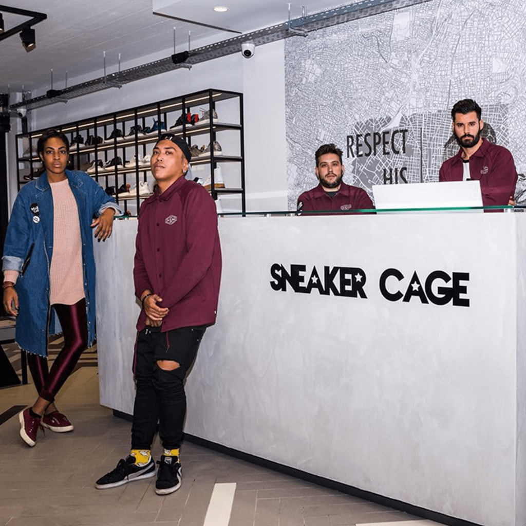 Sneaker Cage - Athens, Greece