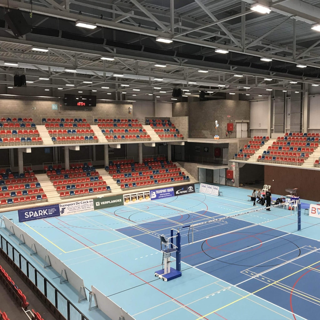 Sports hall Beveren - Beveren, Belgium