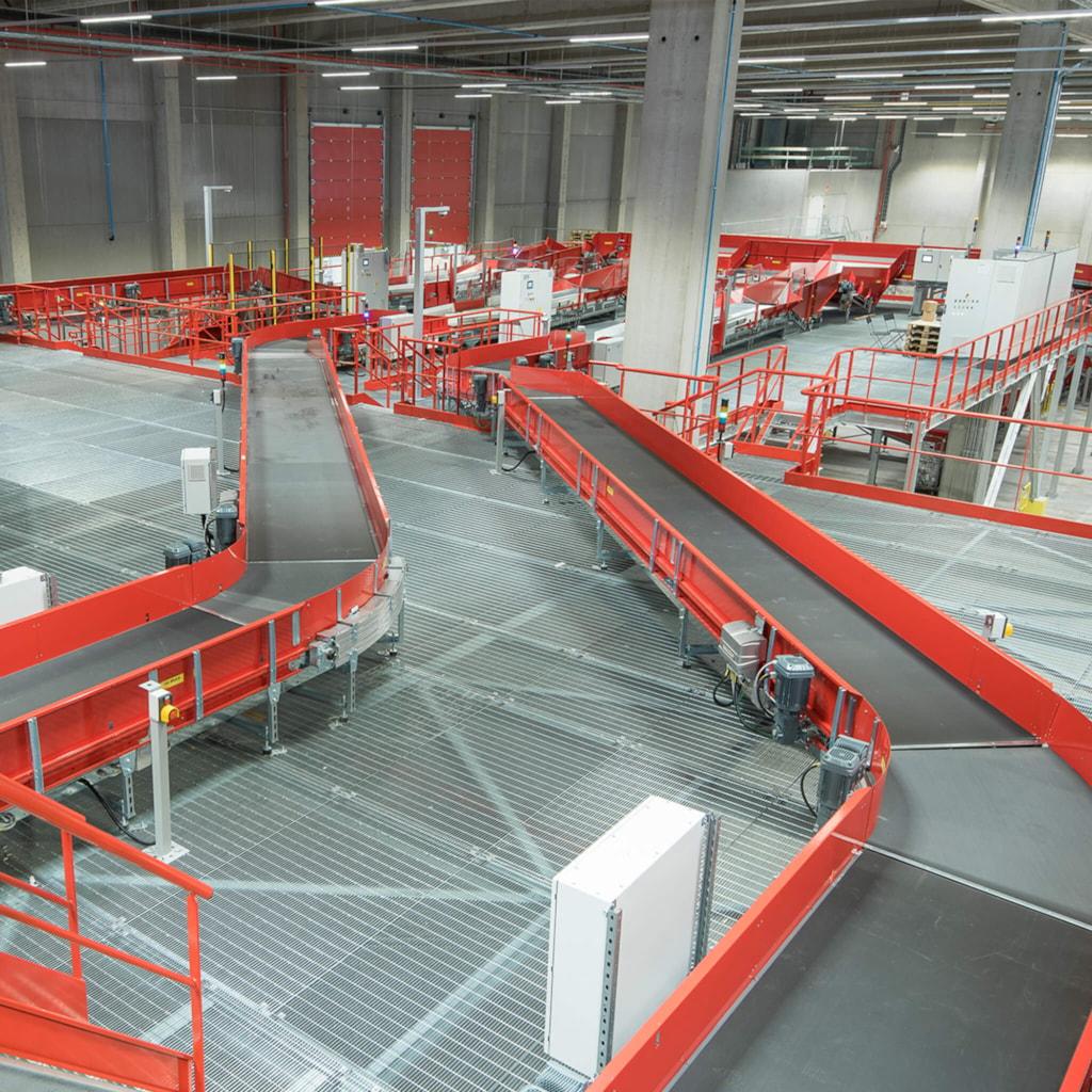 bpost sorting center - Brussels, Belgium
