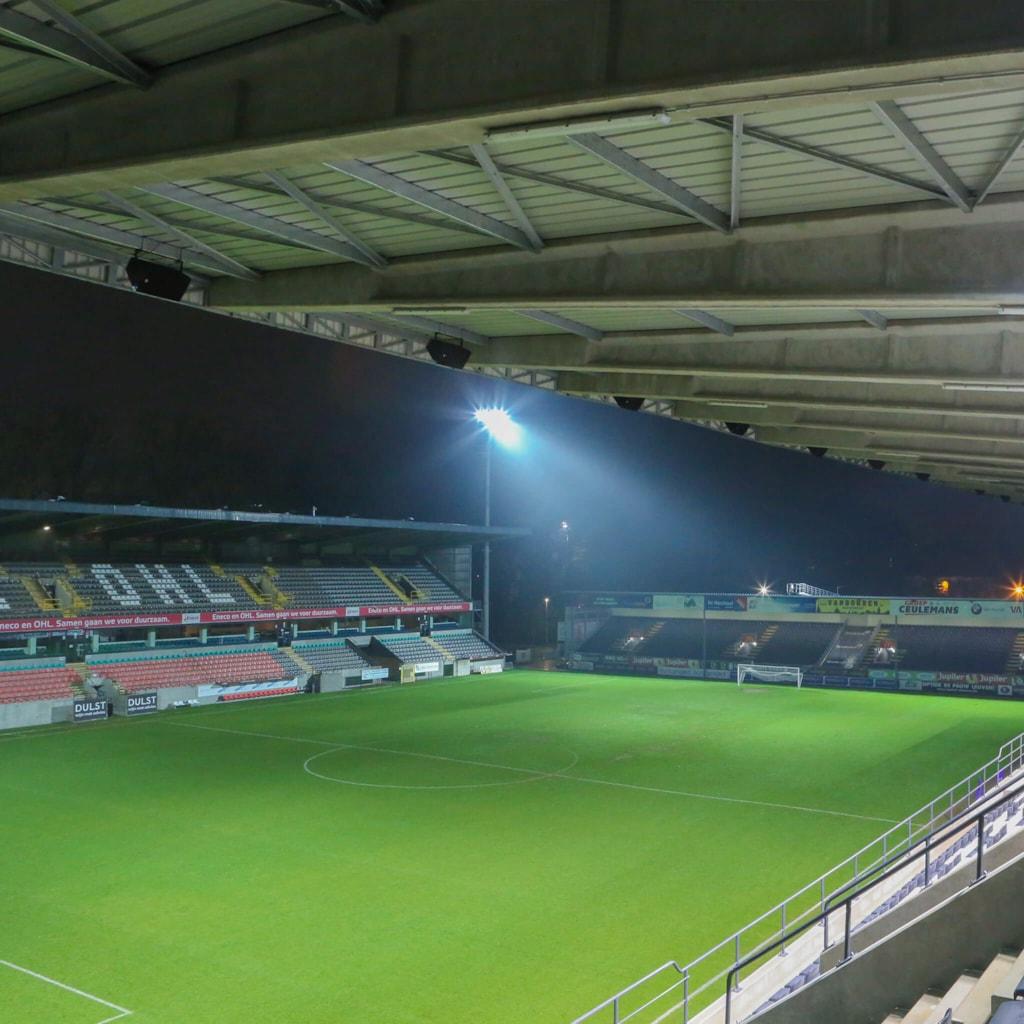 King Power at Den Dreef Stadion - Leuven, Belgium
