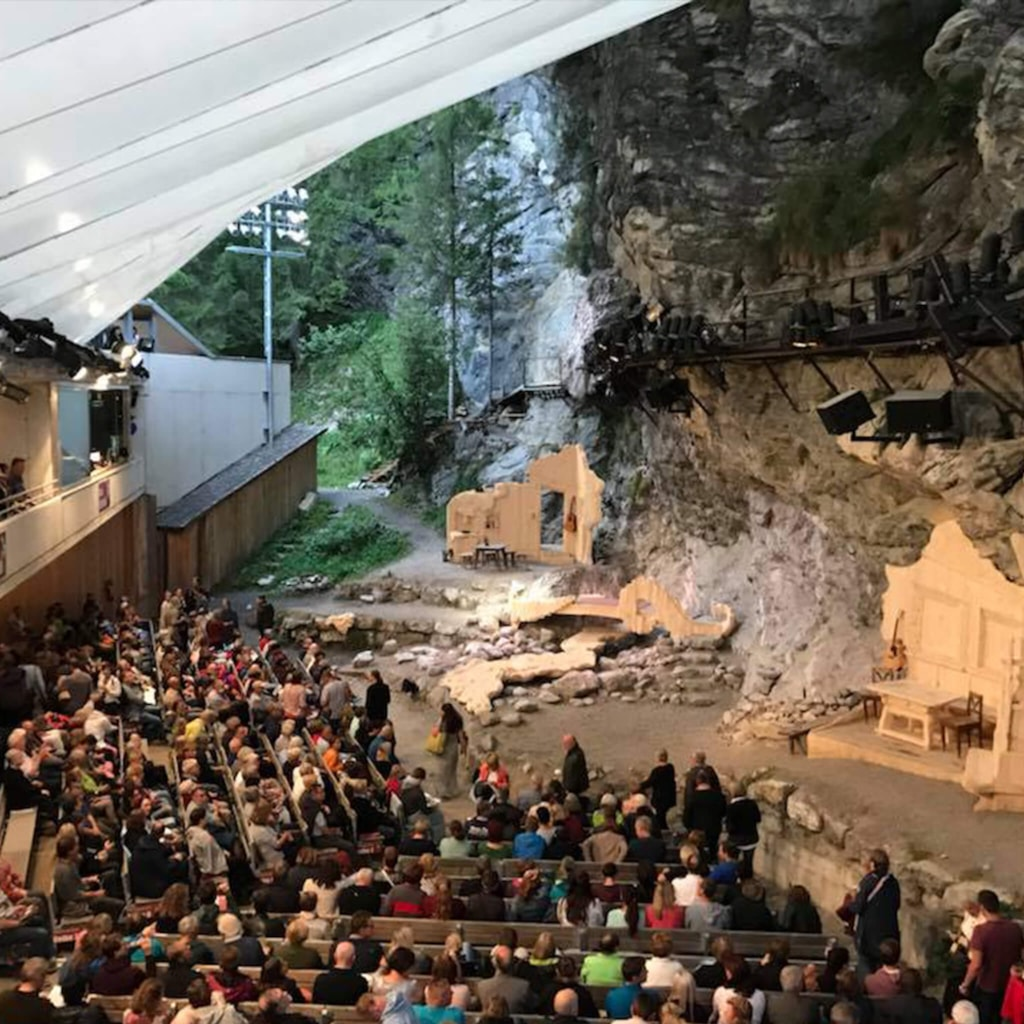 Geierwally open-air theater - Elbigenalp, Austria