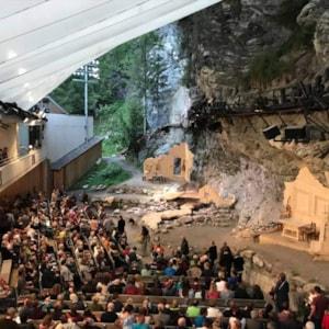 Geierwally open-air theater - Elbigenalp, Austria