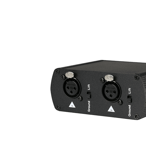Audio line isolators -