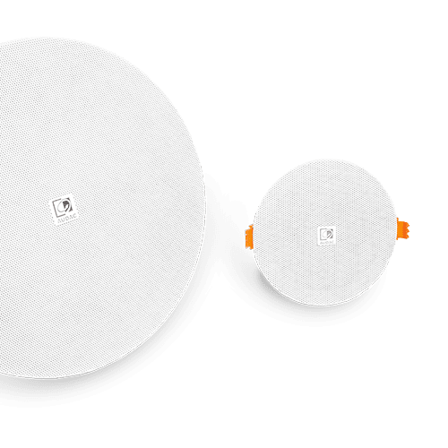Quick-fit™ ceiling loudspeakers -