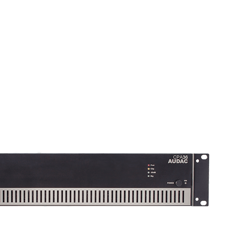 Single channel 100V amplifiers -