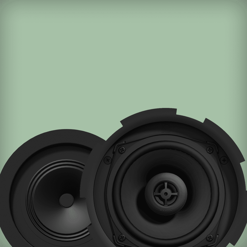 100V Ceiling speaker solutions