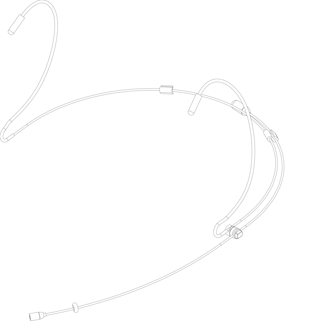 CMX726 - Headset condenser omni-directional microphone