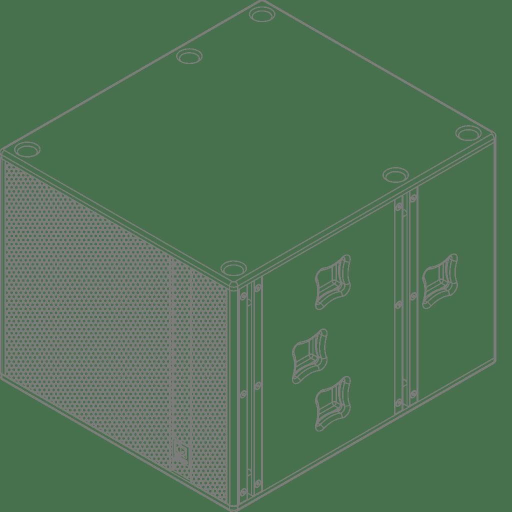 """FX1.18 - High-output bass cabinet 18"""""""