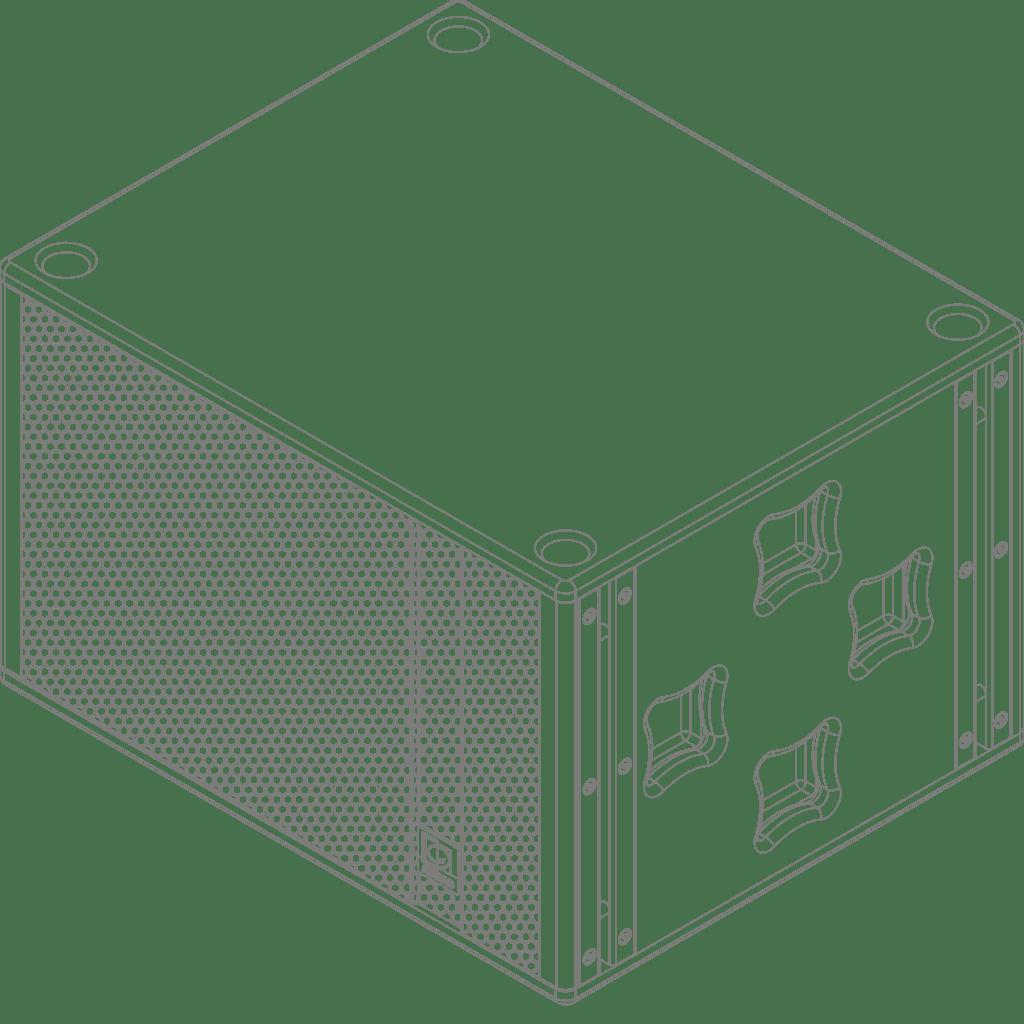 "FX3.15 - High-output cabinet 15"""