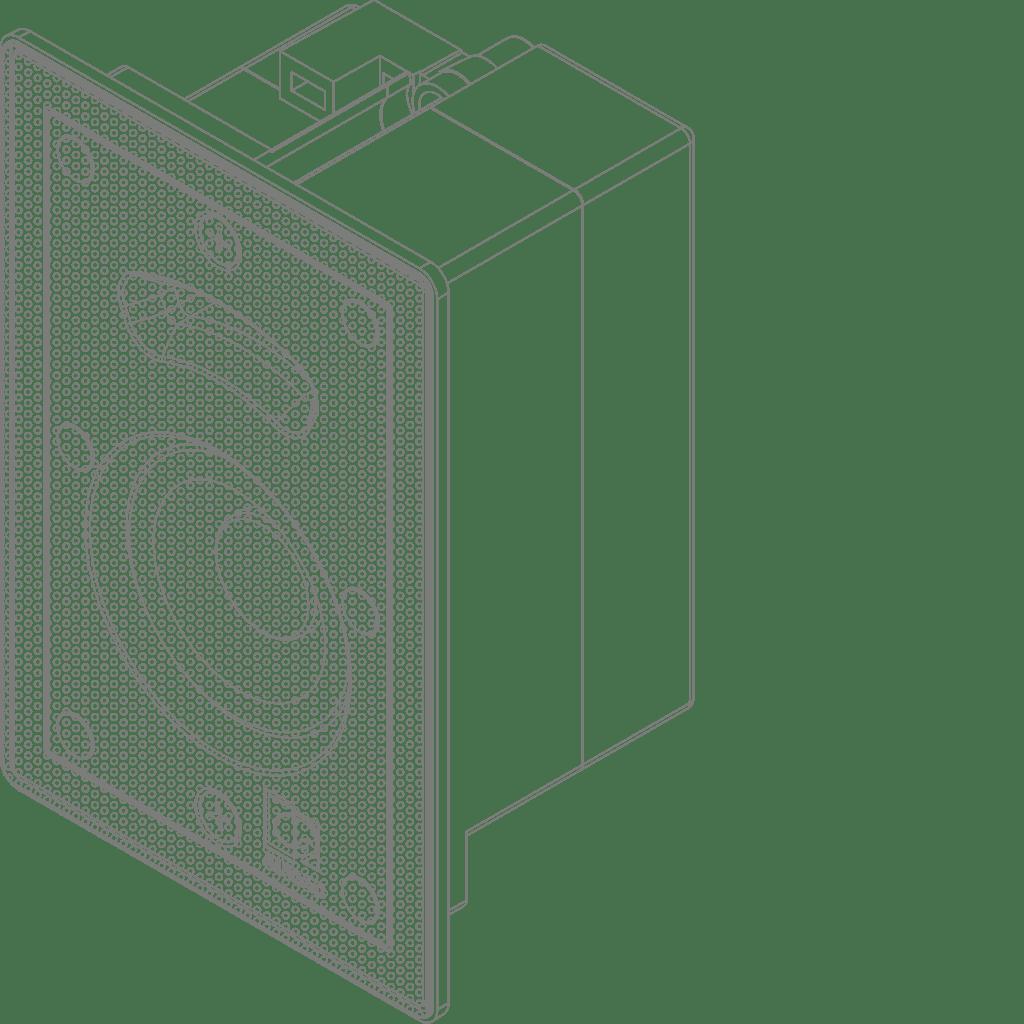 """MERO2 - High-end in-wall speaker 2"""""""