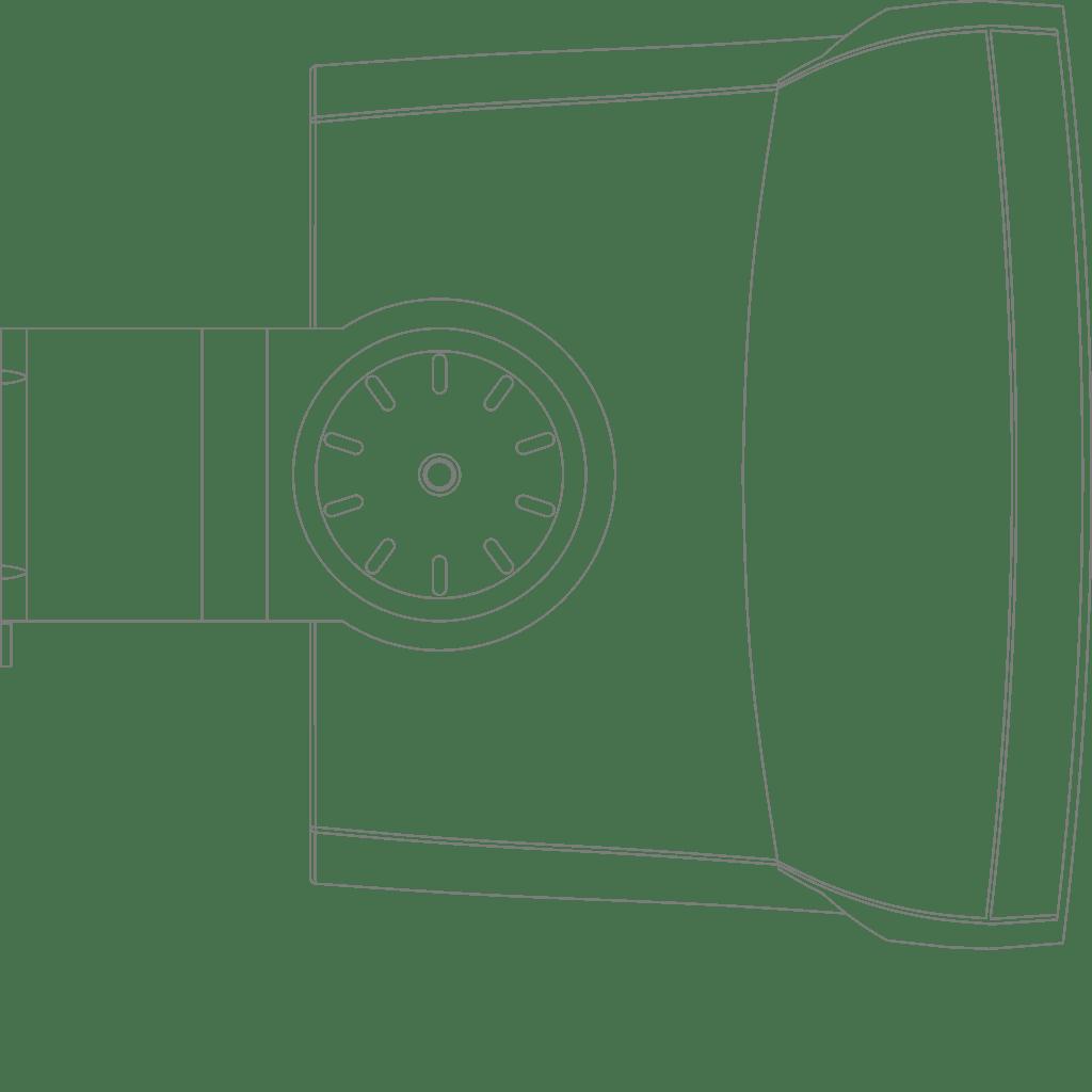 "WX502 - Universal wall speaker 5 1/4"""