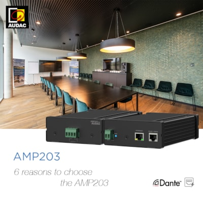 6 REASONS TO CHOOSE THE AMP203