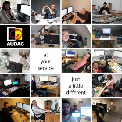 AUDAC at your service!