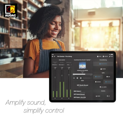 AUDAC Touch™ 2 - New features