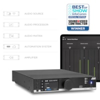 MFA series won the BOS award 2020 at InfoComm
