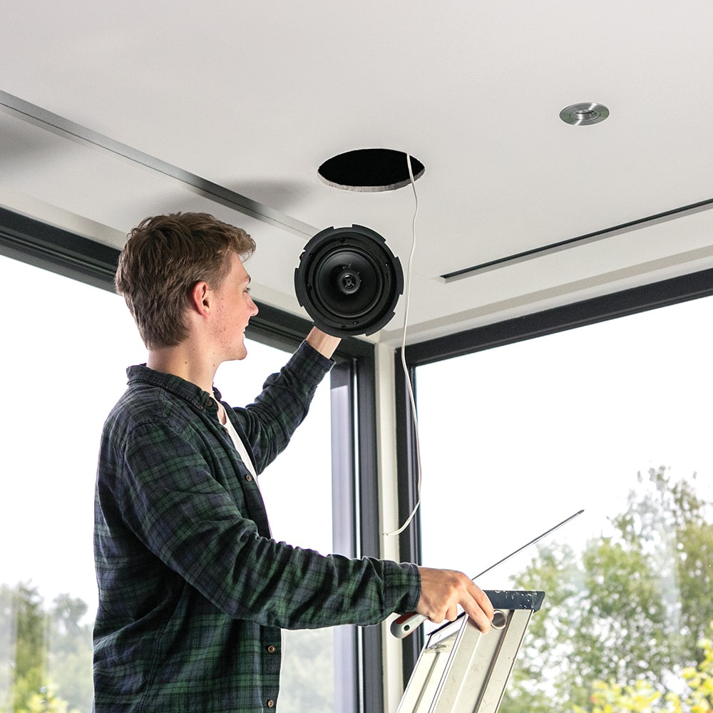How to install CIRA ceiling speakers -