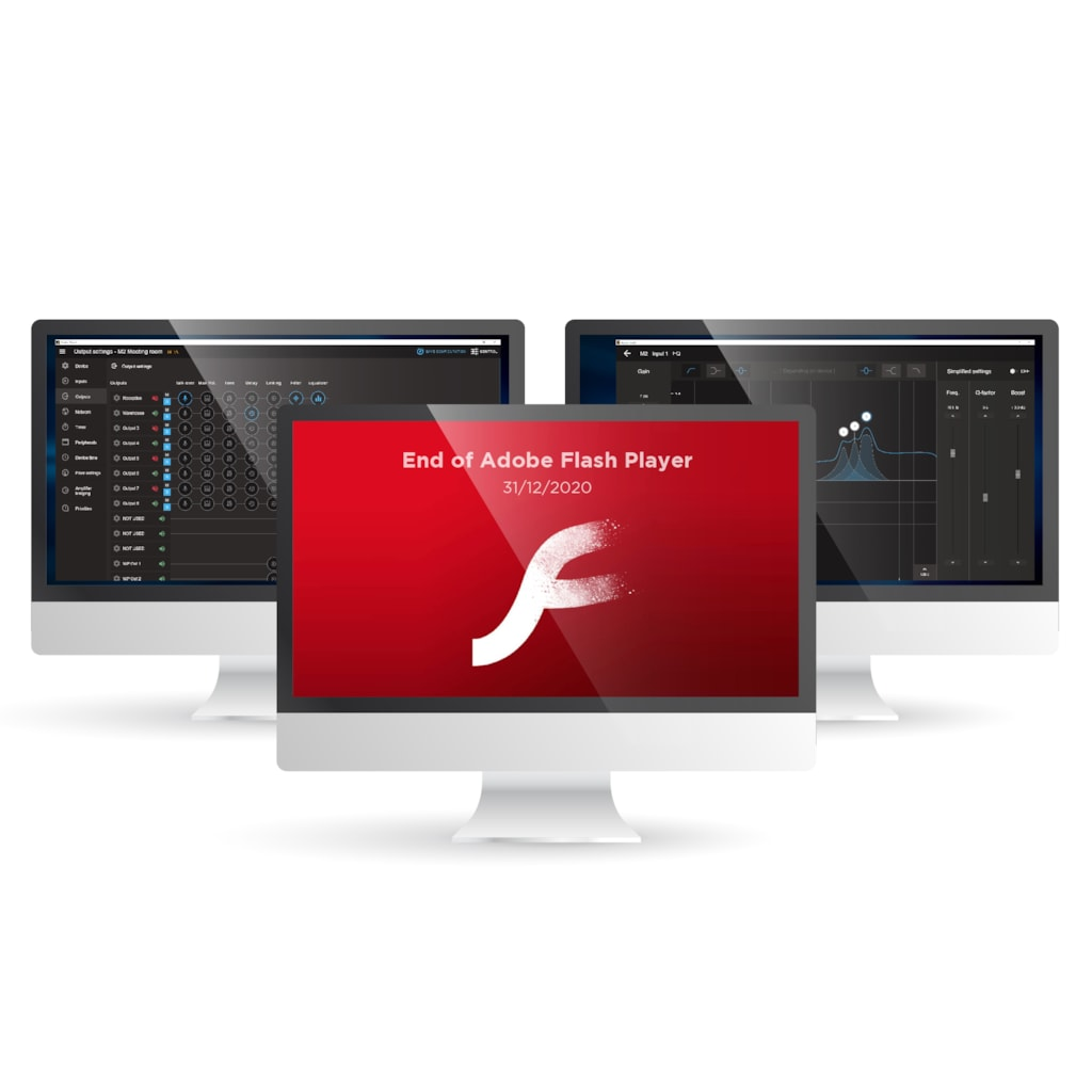 Adobe Flash Player End-of-Life - AUDAC News
