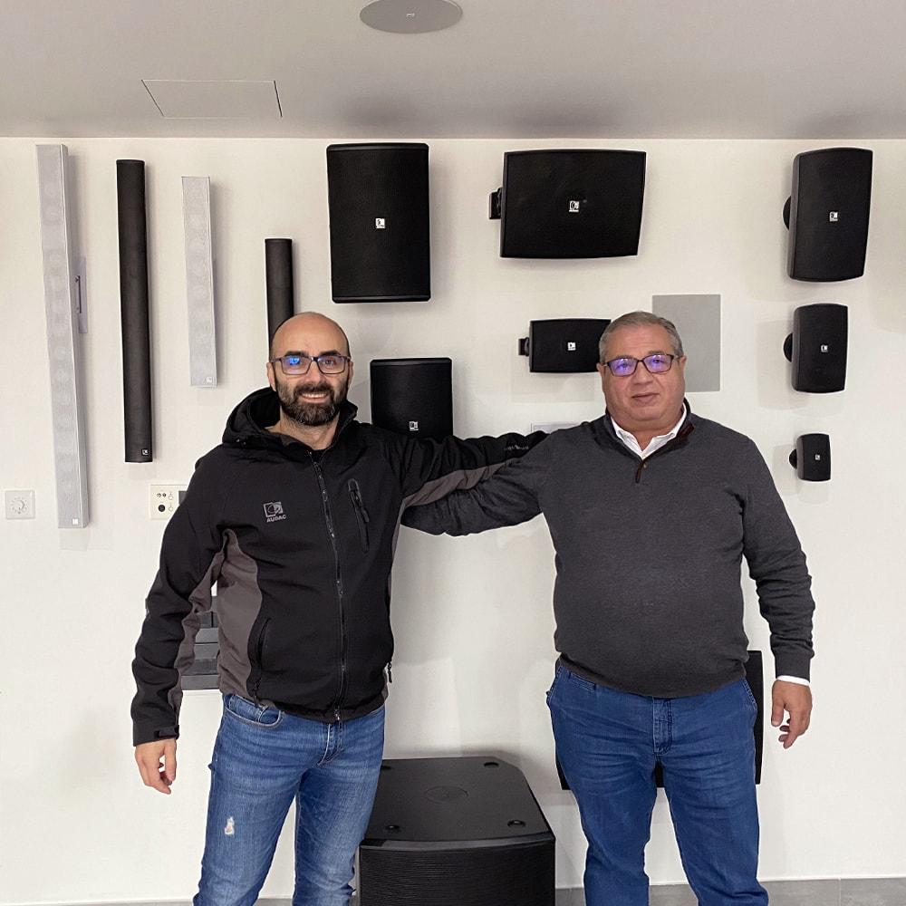 SeeSound distributor in Portugal - AUDAC & CAYMON news