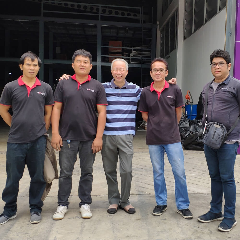 Showtec - Exclusive distributor in Thailand - AUDAC News