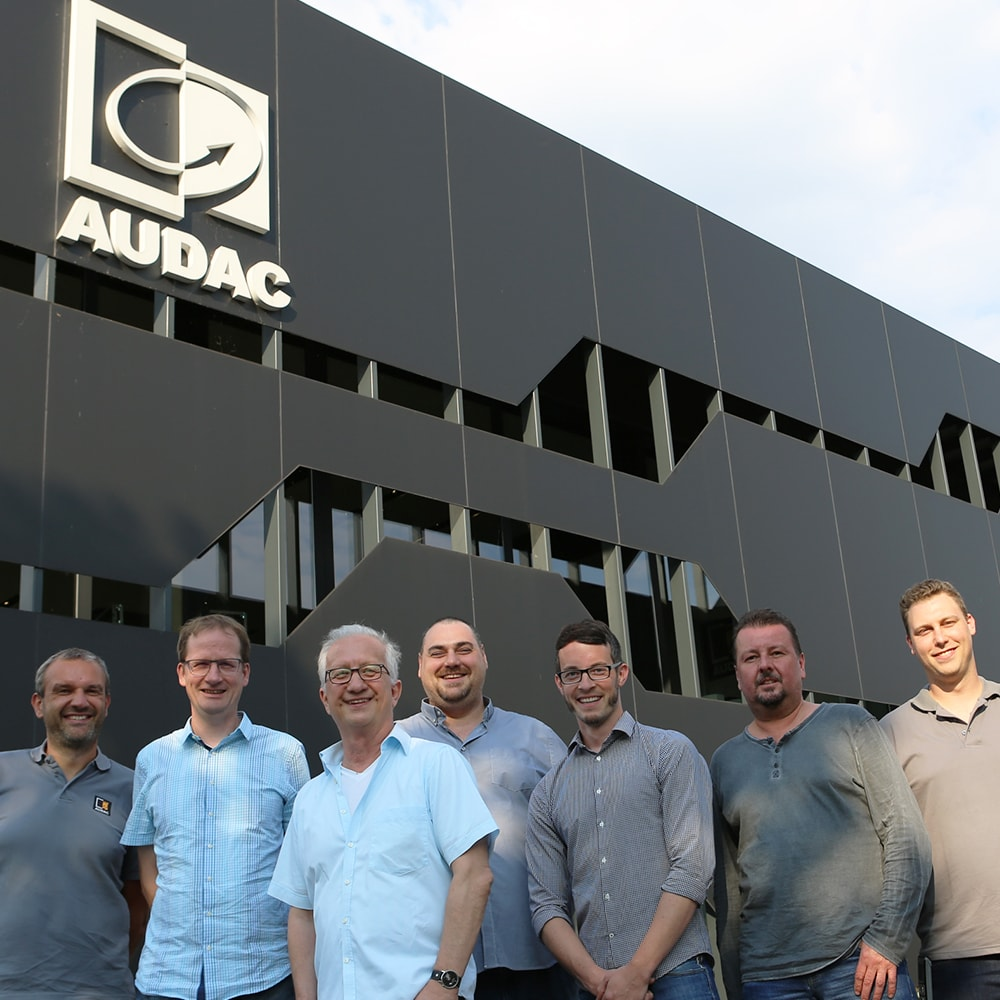 TRIUS - Exclusive AUDAC distributor in Germany  -