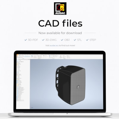 Now available: CAD files