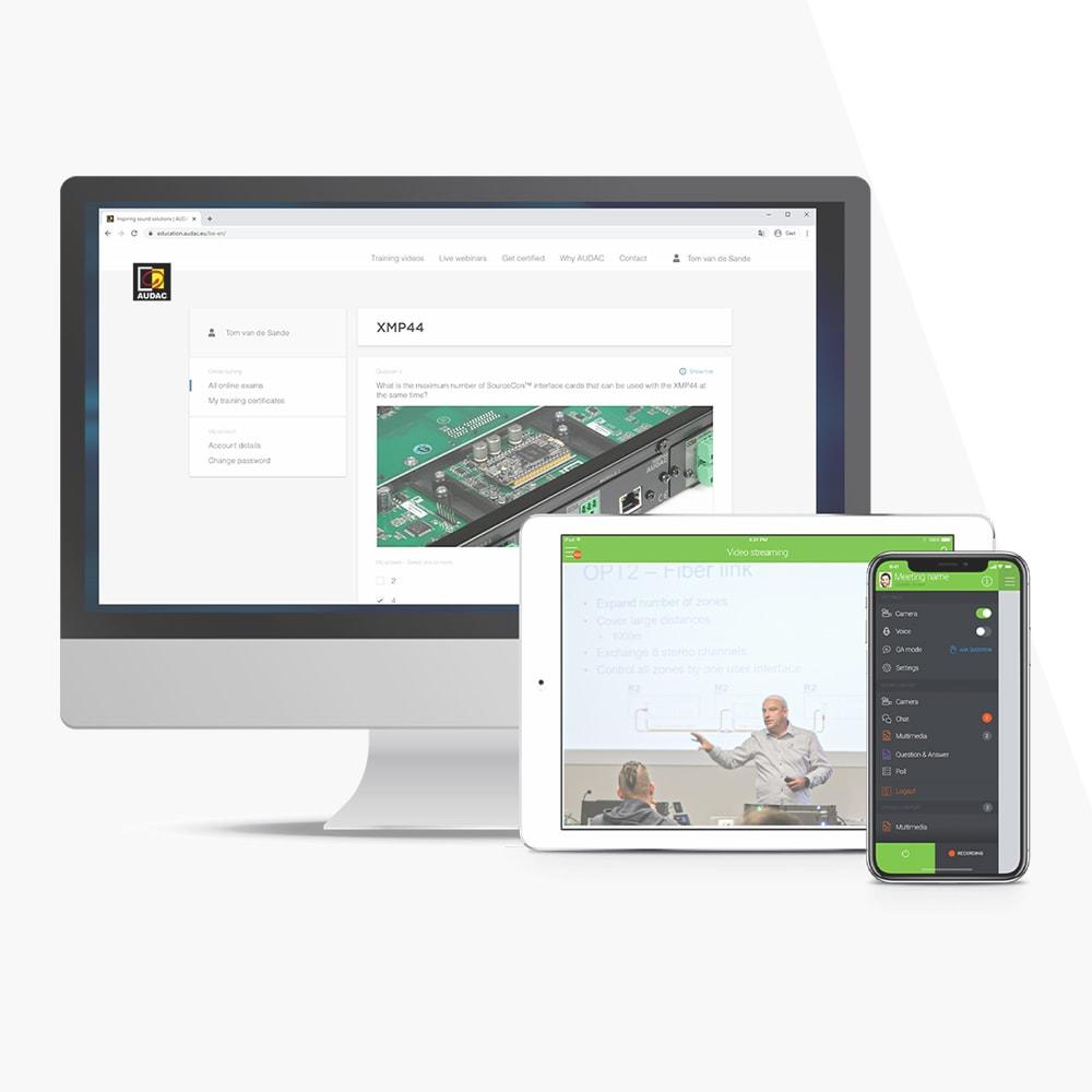 AUDAC Online education platform - AUDAC News