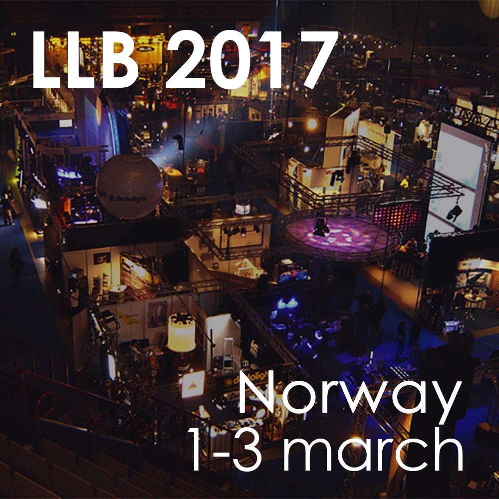 VISIT US AT LYD, LYS & BILDEFORENINGEN NORWAY -