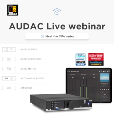 Live webinar: Meet the MFA series