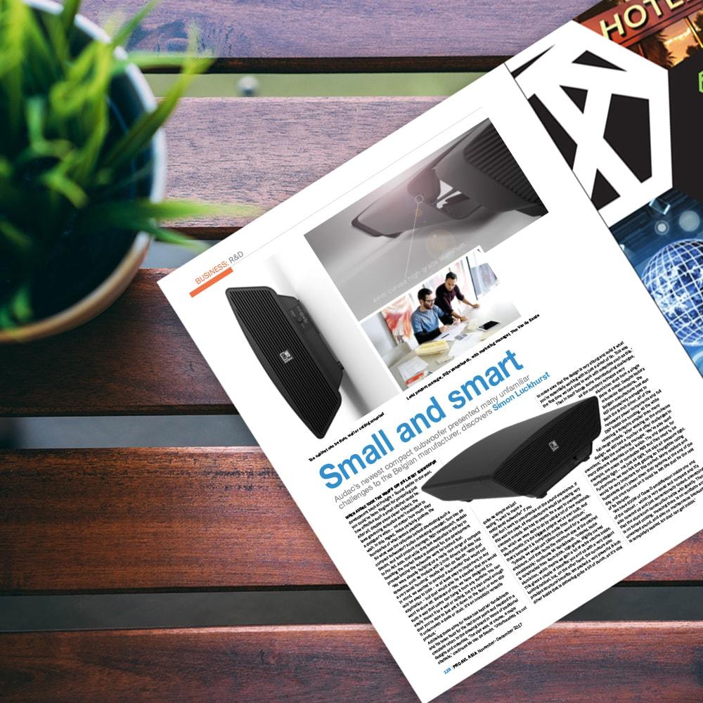 NOBA8 in PRO AVL Magazine  -