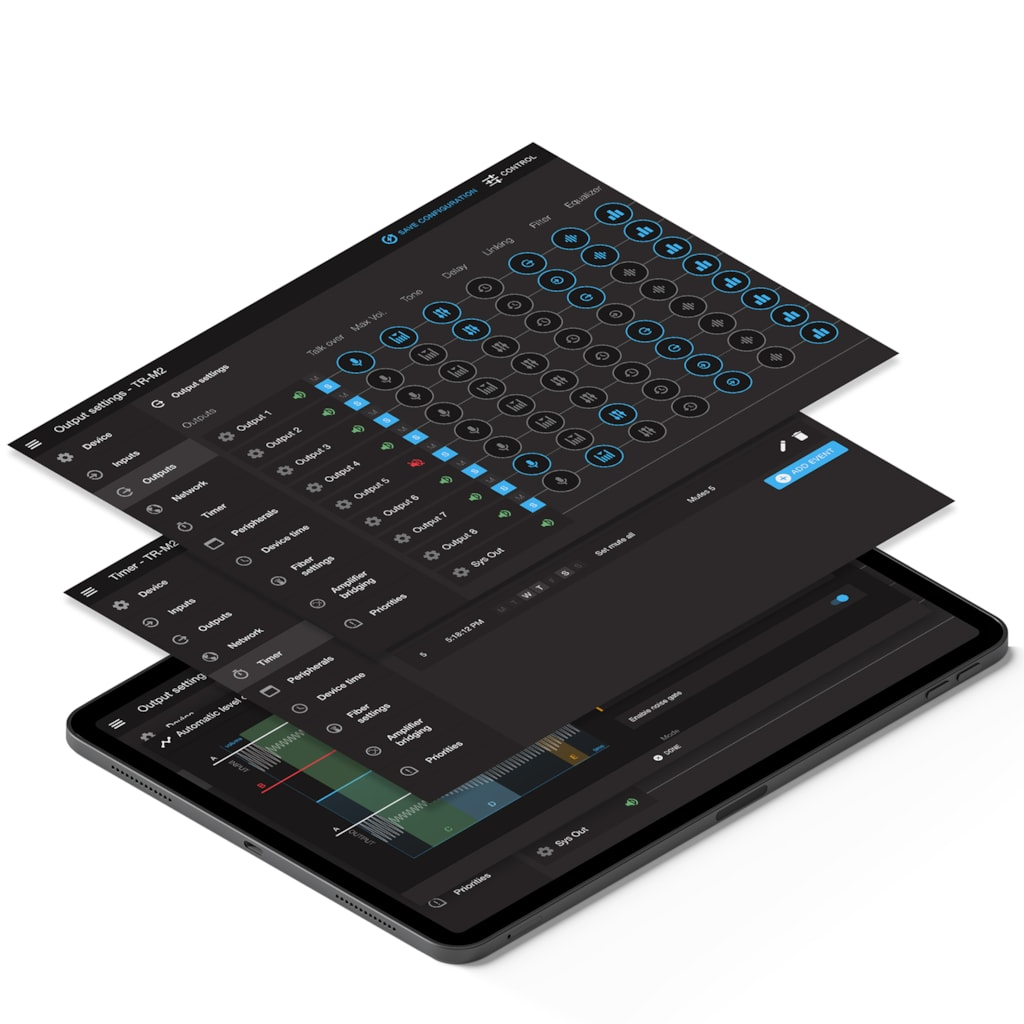 AUDAC Touch 2 v2.5 update - New features -